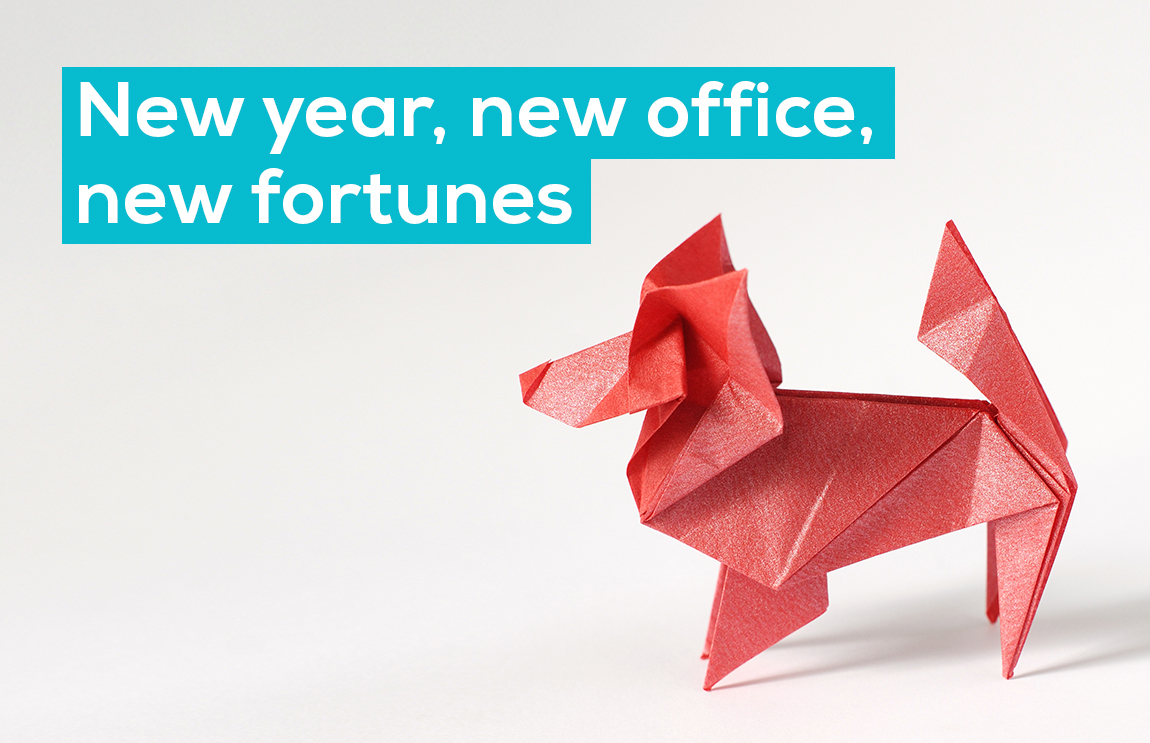 New year, new office, new fortunes
