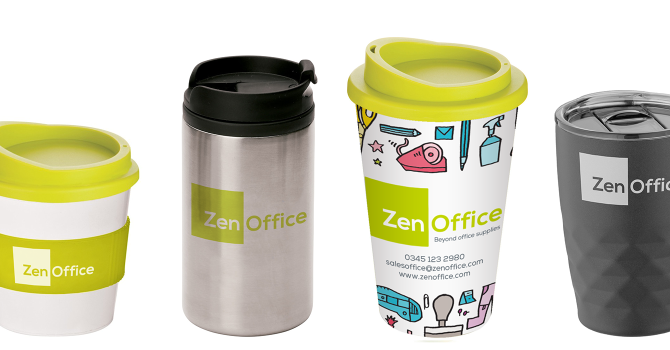 Reusable drinkware from ZenOffice